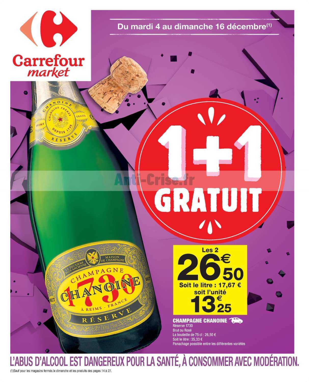 Catalogue Carrefour Market du 04 au 16 décembre 2018