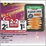 Bon Plan Plaisir de la Mer Fleury Michon chez Géant Casino (27/11 - 09/12) - anti-crise.fr