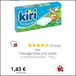 Bon Plan Kiri Crème Partout - anti-crise.fr
