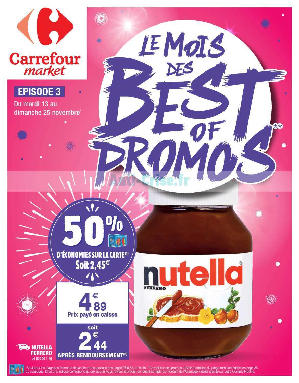 Catalogue Carrefour Market du 13 au 25 novembre 2018 (Best Of 3)
