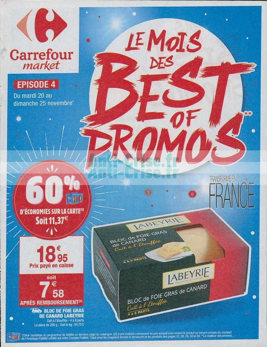 Catalogue Carrefour Market du 20 au 25 novembre 2018 (Best Of 4)