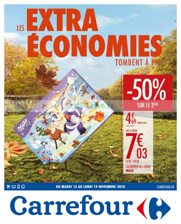 Catalogue Carrefour du 13 au 19 novembre 2018 (Economies)