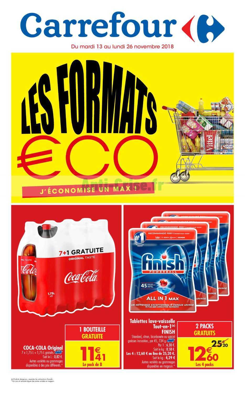 Catalogue Carrefour du 13 au 26 novembre 2018 (Gros Volumes)