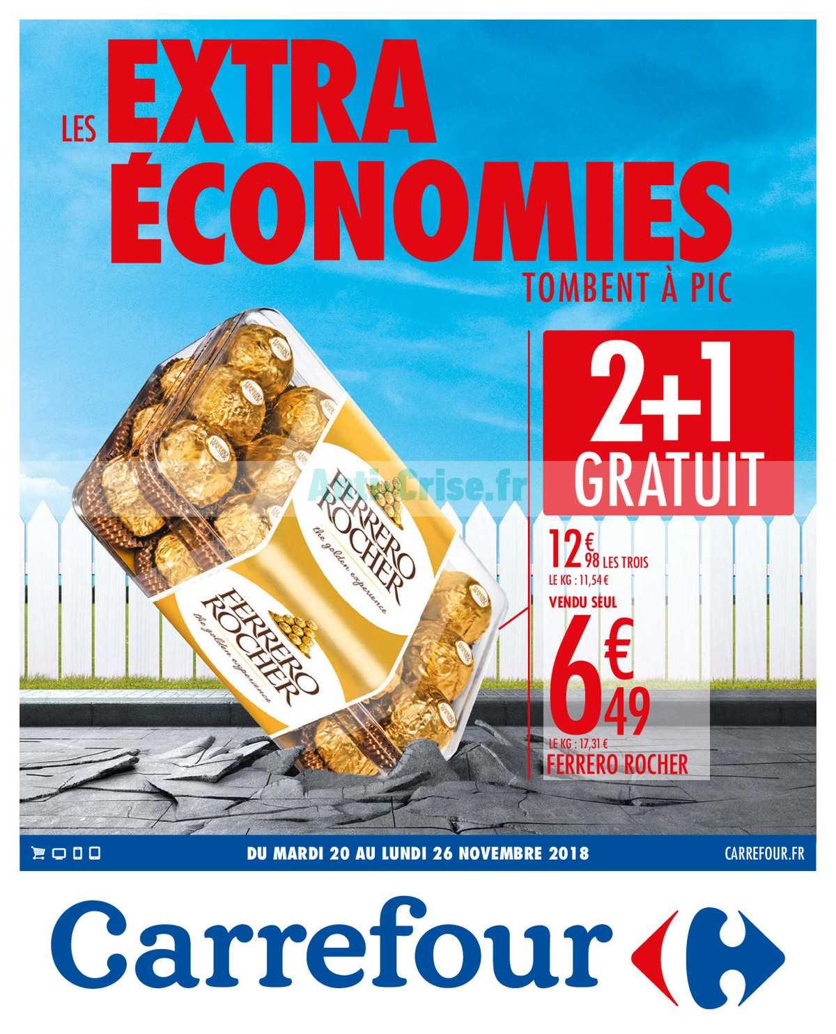 Catalogue Carrefour du 20 au 26 novembre 2018