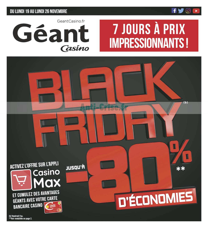 black friday geant casino pontarlier