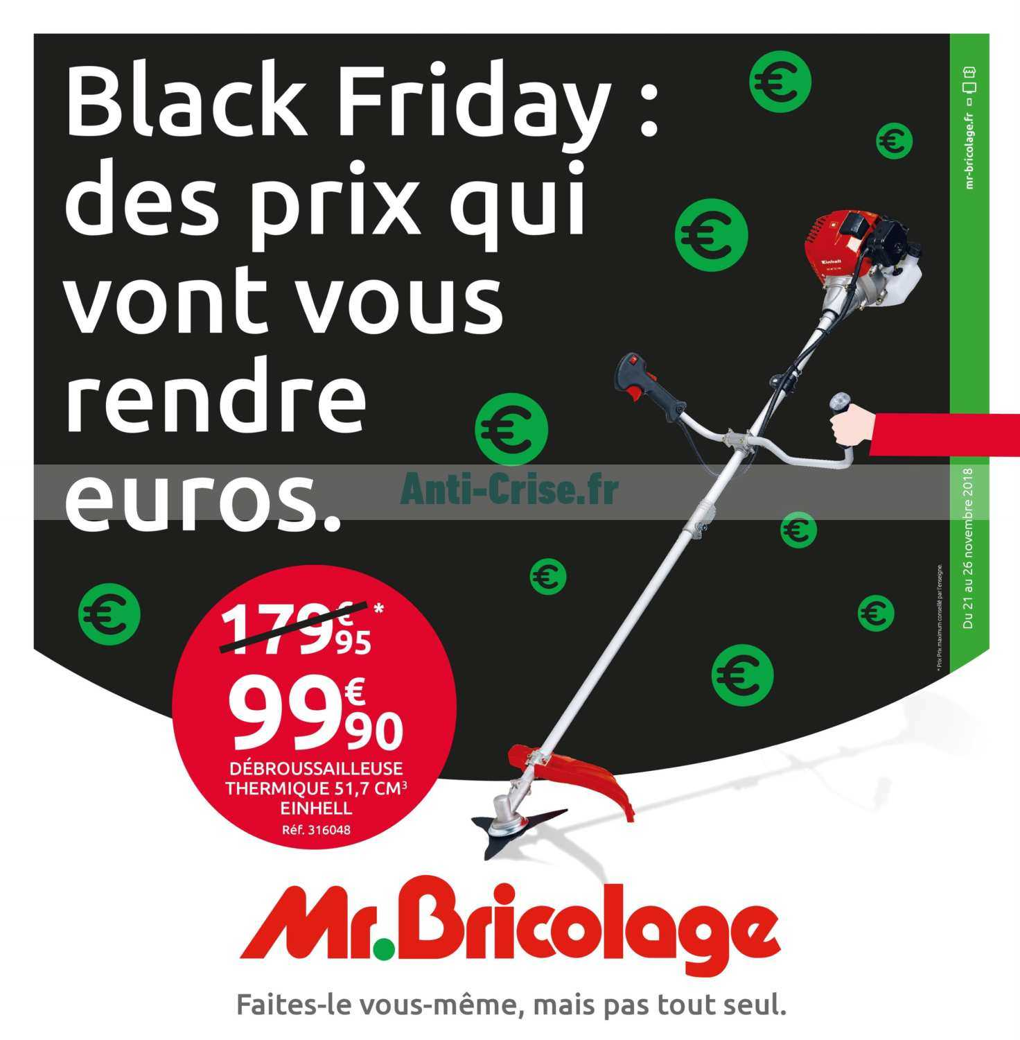 catalogue mr bricolage du 21 au 26 novembre 2018 catalogues promos bons plans economisez. Black Bedroom Furniture Sets. Home Design Ideas