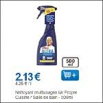 Bon Plan Spray Citron Mr Propre chez Leclerc - anti-crise.fr