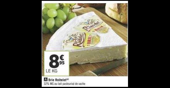 Bon Plan Brie Le Roitelet chez Géant Casino (27/11 - 09/12) - anti-crise.Fr