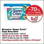 Bon Plan Lessive Super Croix Capsules chez Monoprix (21/11 - 03/12) - anti-crise.Fr