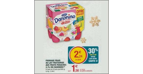 Bon Plan Danonino chez Hyper U - anti-crise.fr