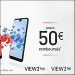 Offre de Remboursement Wiko : Jusqu'à 50€ Remboursés sur Smartphone View2 - anti-crise.fr