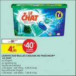 Bon Plan Lessive Le Chat Caps chez Intermarché - anti-crise.fr