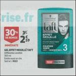 Bon Plan Produits Taft chez Auchan Supermarché - anti-crise.fr