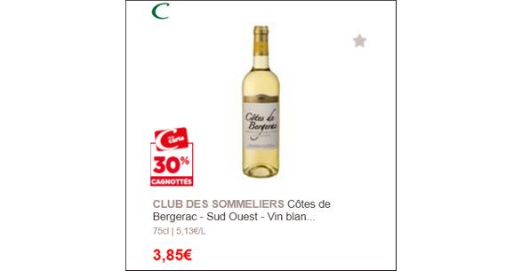 Club des sommeliers casino