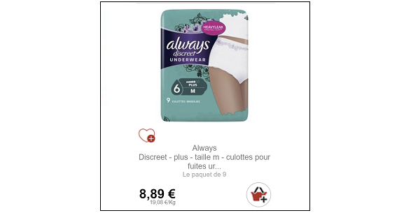 Bon Plan Culottes Discreet Partout -anti-crise.Fr