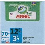 Bon Plan Lessive Ariel Pods 3en1 chez Auchan (26/12 - 31/12) - anti-crise.Fr