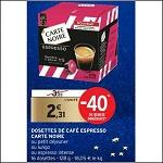 Bon Plan Capsules Carte Noire Compatibles Dolce Gusto chez Intermarché (18/12 - 31/12) - anti-crise.fr