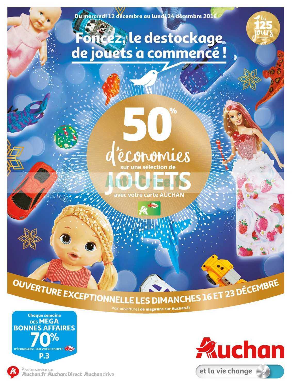 Catalogue Auchan du 12 au 24 décembre 2018