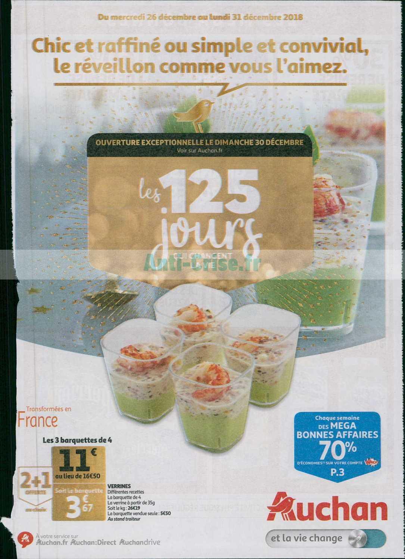 Catalogue Auchan du 26 au 31 décembre 2018