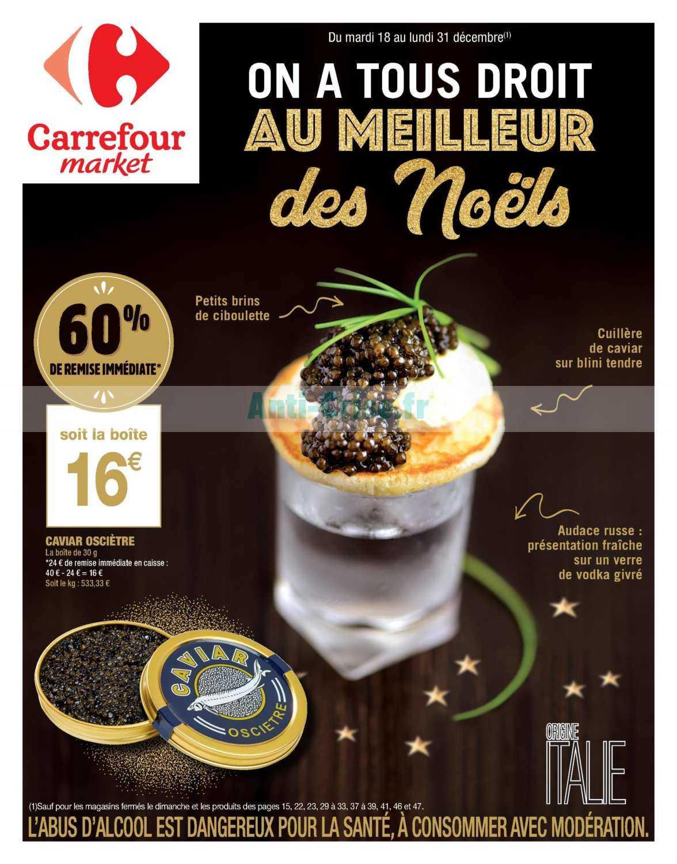 Catalogue Carrefour Market du 18 au 31 décembre 2018
