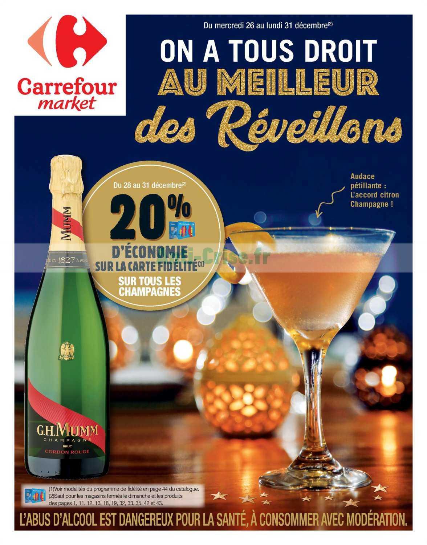 Catalogue Carrefour Market du 26 au 31 décembre 2018