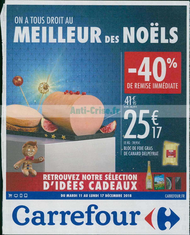 Catalogue Carrefour du 11 au 17 décembre 2018