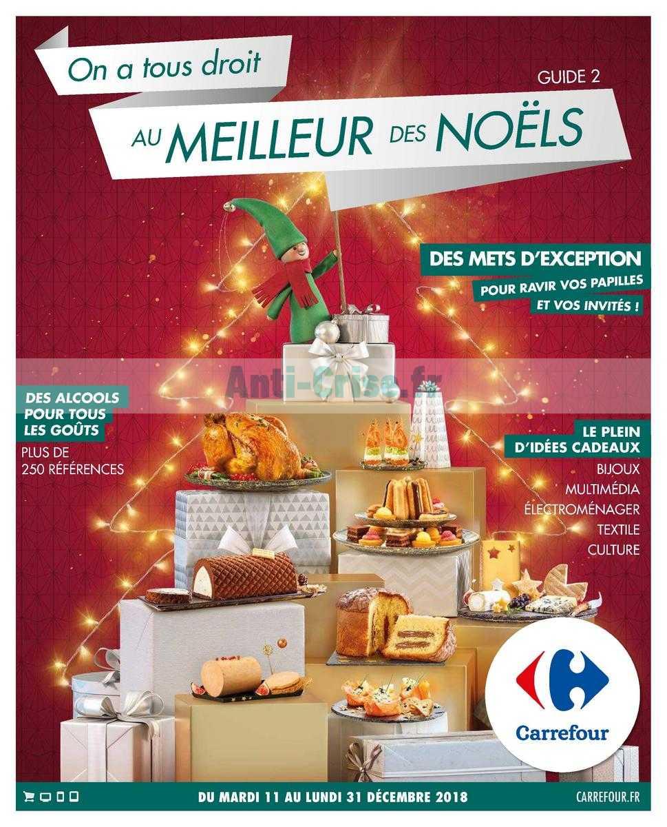 Catalogue Carrefour du 11 au 31 décembre 2018 (Guide Noël)