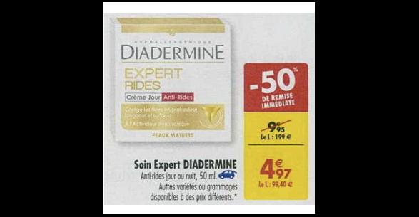 Bon Plan Crème Diadermine Expert chez Carrefour (11/12 - 17/12) - anti-crise.fr