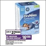 Bon Plan Culottes DryNites chez Casino (04/12 - 16/12) - anti-crise.fr