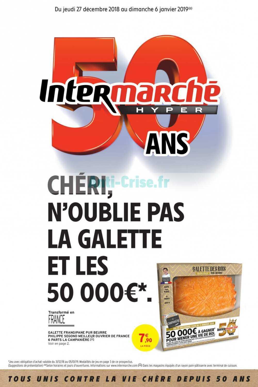Catalogue Intermarché du 27 décembre 2018 au 06 janvier 2019 (Version Hyper)