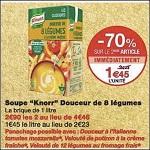 Bon Plan Brique de Soupe Knorr chez Monoprix (19/12 - 31/12) - anti-crise.fr