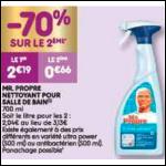 Bon Plan Spray Mr Propre chez Leader Price (04/12 - 09/12) -anti-crise.fr
