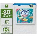 Bon Plan Lessive Super Croix Capsules chez Carrefour (26/12 - 14/01) - anti-crise.fr