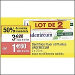 Bon Plan Dentifrice Vademecum chez Cora (11/12 - 17/12) - anti-crise.Fr
