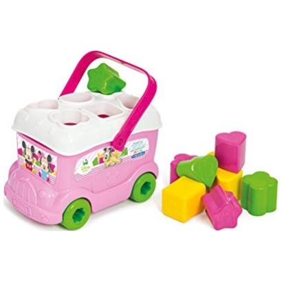 Jouet 1er age Le bus des formes de Minnie à 9.49€