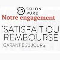 Offre de Remboursement Colon Pure : Detox Line Satisfait ou 100% Remboursé