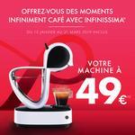 Offre de Remboursement Nescafé : Machine Dolce Gusto Infinissima pour 49€ - anti-crise.fr