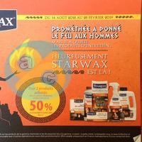 Offre de Remboursement Starwax : 50% Remboursés sur 2ème Produit Cheminée