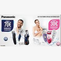 Offre de Remboursement Panasonic : Jusqu'à 70€ Remboursés sur Rasoir, Tondeuse ou Epilateur