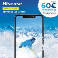 Offre de Remboursement Hisense : Jusqu'à 60€ Remboursés sur Smartphone Infinity
