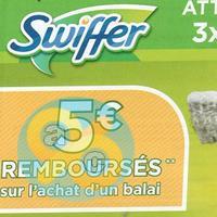Offre de Remboursement Swiffer : 5€ Remboursés sur Balai