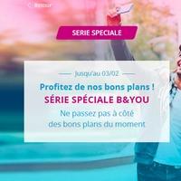 9.99€ par mois à vie le Forfait mobile Bandyou illimité 40go