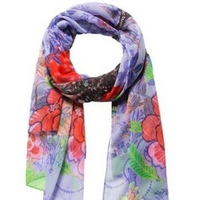 16.6€ le foulard Desigual