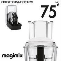 Bon Plan Magimix : Cadeau de 75€ pour l'achat d'un Robot 3200 XL