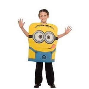 7.6€ le costume Minions pour enfants 5-6 ans