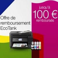 Offre de Remboursement Epson : Jusqu'à 100€ Remboursés sur Imprimante