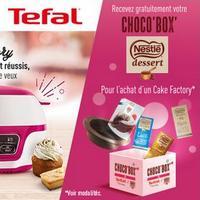 Bon Plan Tefal : 1 Choco Box Nestlé Offerte