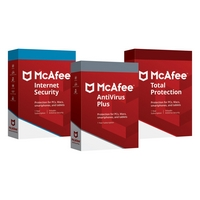 16.99€ Antivirus Mc Afee Internet Security 3 postes 1 an