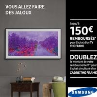 Offre de Remboursement Samsung : Jusqu'à 150€ Remboursés sur TV The Frame
