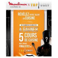 Bon Plan Moulinex : 5 Cours de Cuisine avec le Finaliste de Top Chef pour l'achat d'un Cookeo
